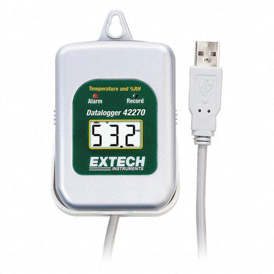 Extech 42275: Temperature/Humidity Datalogger Kit with PC Interface