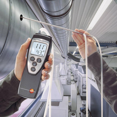 Testo 512 : Differential Pressure Meter - 0 to 2hPa