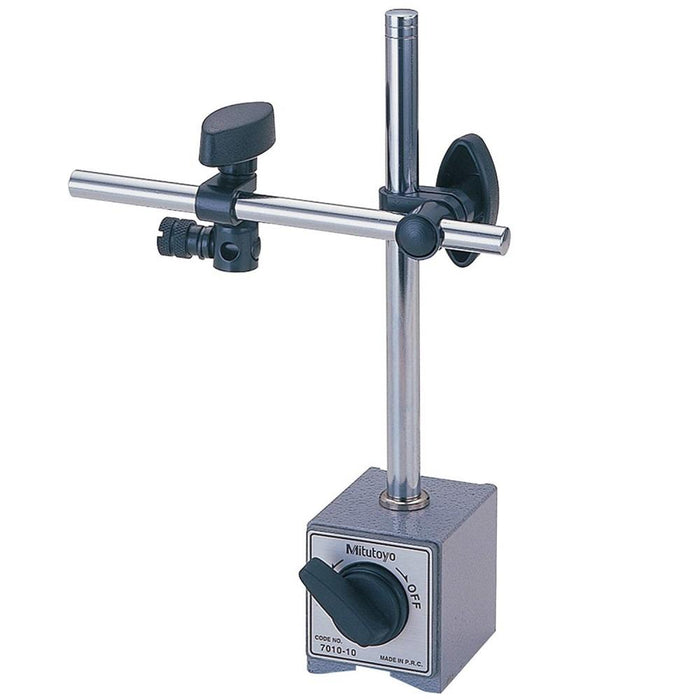 "Mitutoyo 7010S-10 : Magnetic Stand 6"" Rod & Universal Clamp"