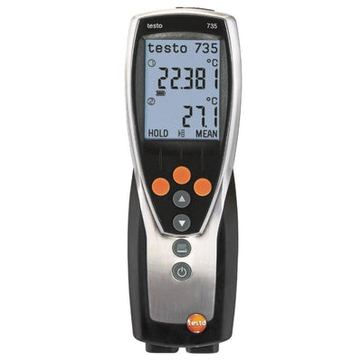 Testo 735-1 : Digital Thermometer ( 3 Channel )