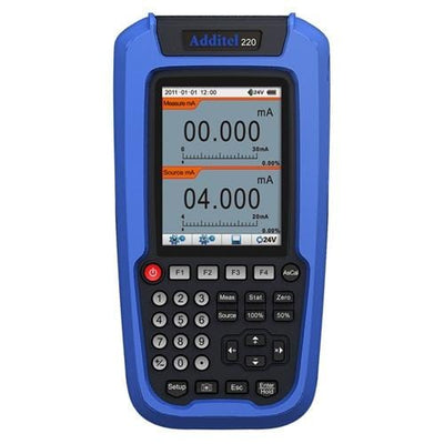 Additel ADT220: Multifunction Loop Calibrator - Anaum - Test and Measurement