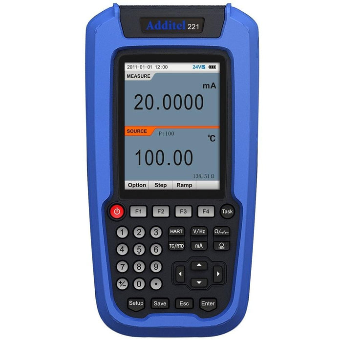 Additel ADT221A: Multifunction Temperature Calibrator - Anaum - Test and Measurement