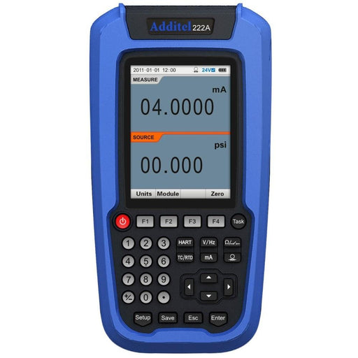Additel ADT222A: Multifunction Process Calibrator - Anaum - Test and Measurement