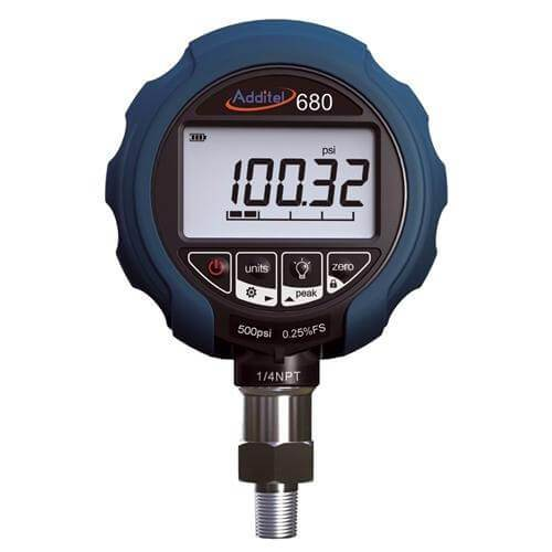 Additel ADT680-GP5K: Digital Pressure Gauge - 5000psi (350bar) - Anaum - Test and Measurement
