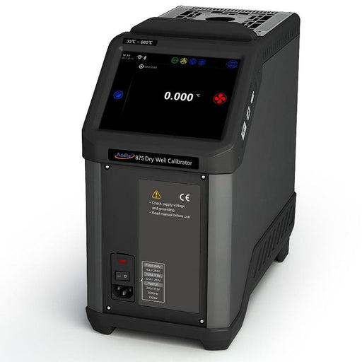 Additel ADT875: Dry Well Temperature Calibrator, 33°C to 350°C - Anaum - Test and Measurement
