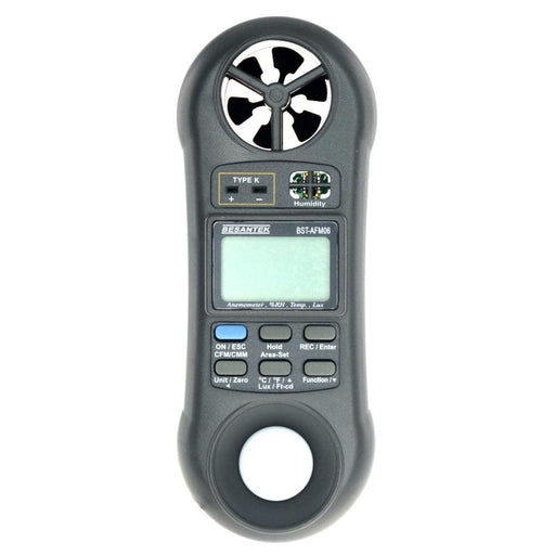 Besantek BST-AFM06 : 5 in1 Environmental Meter - Anaum - Test and Measurement