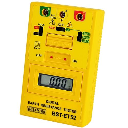 Besantek BST-ET52: Digital Earth Resistance Tester - Anaum - Test and Measurement