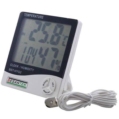 Besantek BST-HYG2 Large Display Thermo-Hygrometer - Anaum - Test and Measurement