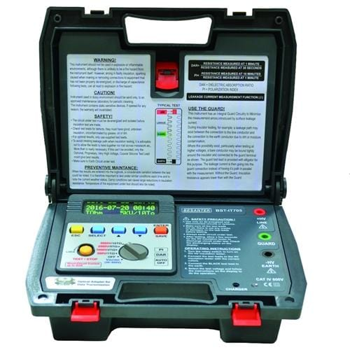 Besantek BST-IT705 : Digital 5kV High Voltage Insulation Tester - Anaum - Test and Measurement