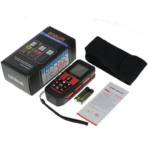 Anaum DA-60E : Laser Distance Meter - 60 meters - Anaum - Test and Measurement