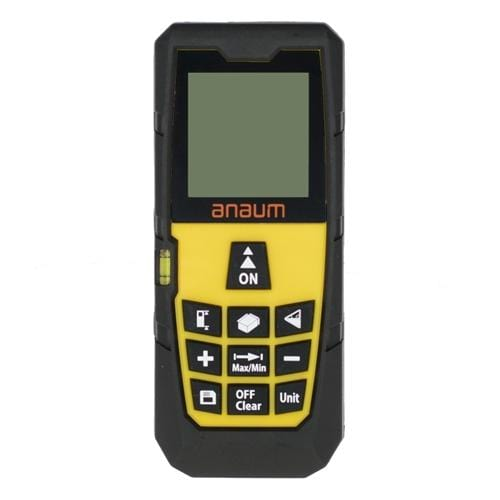 Anaum DA-80E : Laser Distance Meter - 80 meters - Anaum - Test and Measurement