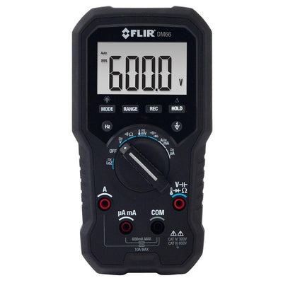 FLIR DM66 : TRMS Multimeter with VFD Mode