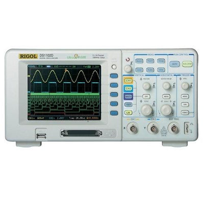 Rigol DS1102D: 100MHz, 2 Channel Digital Oscilloscope