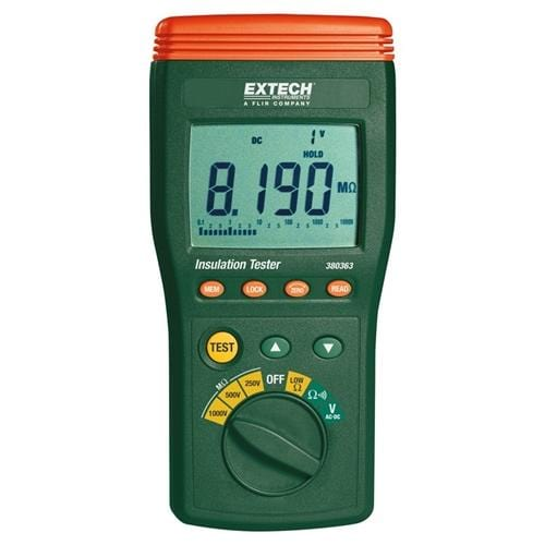 Extech 380363: Digital High Voltage Insulation Tester - Anaum - Test and Measurement