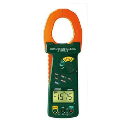 Extech 380926: 2000A True RMS AC/DC Clamp Meter