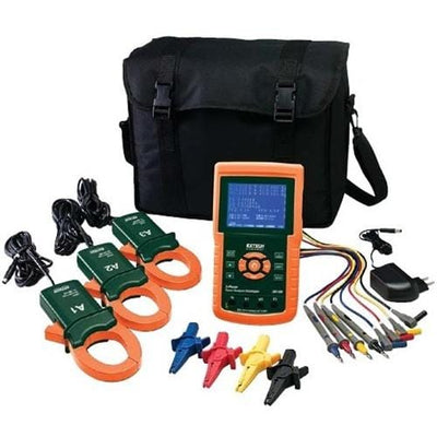 Extech 382100: 1200A 3-Phase Power Analyzer/Datalogger