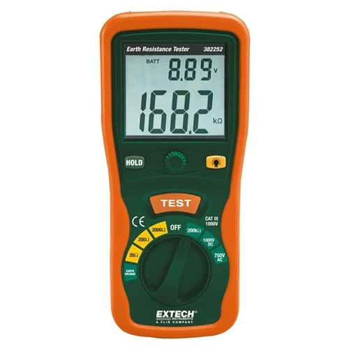 Extech 382252: Earth Ground Resistance Tester Kit - Anaum - Test and Measurement