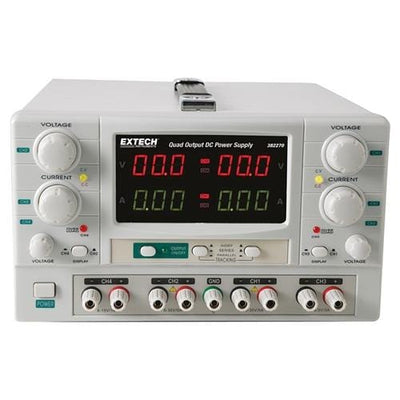 Extech 382270: Quad Output DC Power Supply - Anaum - Test and Measurement
