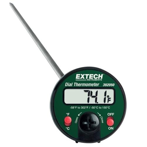 Extech 392050: Penetration Stem Dial Thermometer - Anaum - Test and Measurement