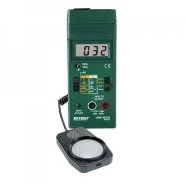 Extech 401025: Foot Candle/Lux Light Meter - Anaum - Test and Measurement