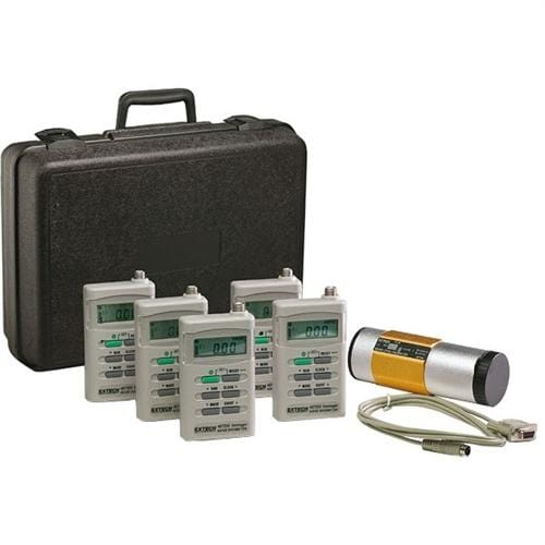 Extech 407355-KIT-5: Noise Dosimeter/Datalogger Kit - Anaum - Test and Measurement