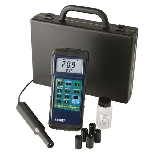 Extech 407510: Heavy Duty Dissolved Oxygen Meter with PC interface - Anaum - Test and Measurement