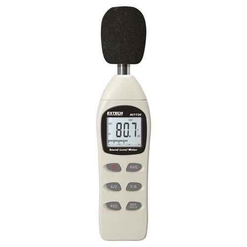 Extech 407730: Digital Sound Level Meter - Anaum - Test and Measurement