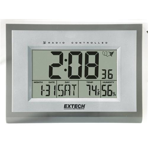 Extech 445706: Hygro-Thermometer Alarm Clock - Anaum - Test and Measurement