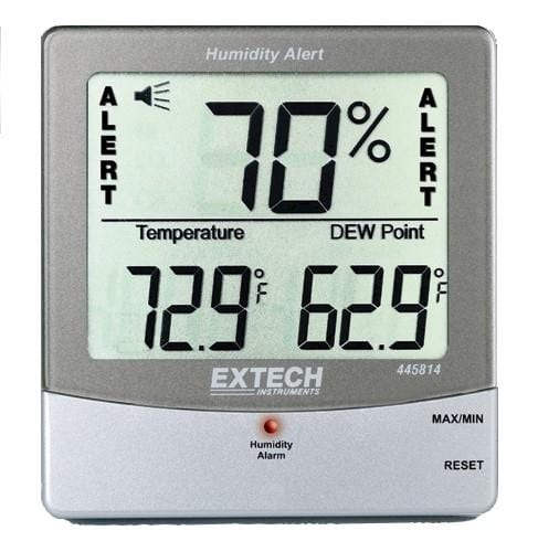 Extech 445814: Hygro-Thermometer Humidity Alert with Dew Point - Anaum - Test and Measurement