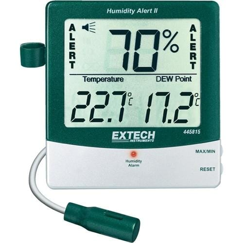 Extech 445815: Hygro-Thermometer Humidity Alert with Dew Point - Anaum - Test and Measurement