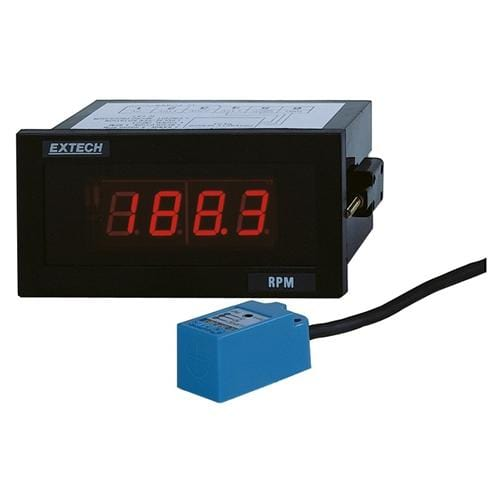 Extech 461950: Panel Mount Tachometer - Anaum - Test and Measurement