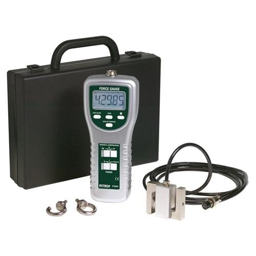 Extech 475055: High Capacity Force Gauge with PC Interface - Anaum - Test and Measurement