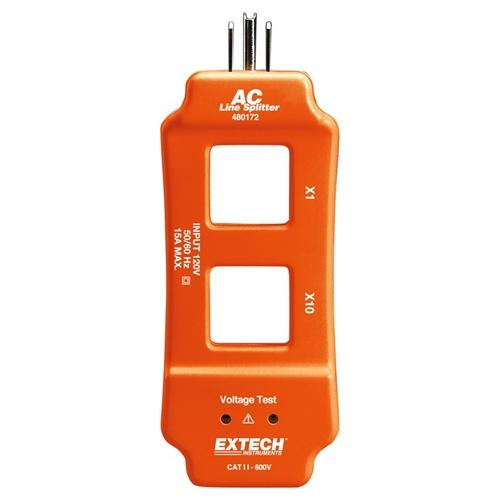 Extech 480172: AC Line Splitter - Anaum - Test and Measurement