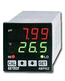 Extech 48PH: pH Controller 1/16 DIN - Anaum - Test and Measurement