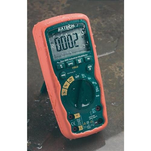 Extech EX520: 11 Function Heavy Duty True RMS Industrial MultiMeter