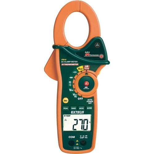 Extech EX810: 1000A AC Clamp Meter with IR Thermometer