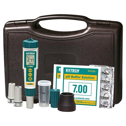 Extech EX900: ExStik 4-in-1 Chlorine, pH, ORP and Temperature Kit