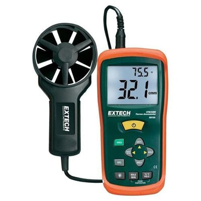 Extech AN100: CFM/CMM Mini Thermo-Anemometer