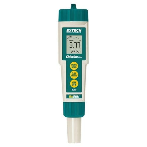 Extech CL200: ExStik Chlorine Meter - Anaum - Test and Measurement