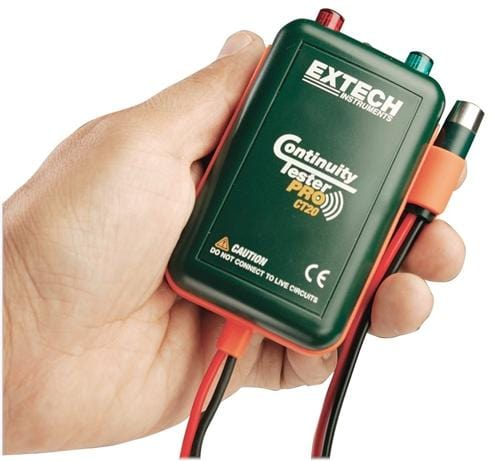 Extech CT20: Remote & Local Continuity Tester - Anaum - Test and Measurement