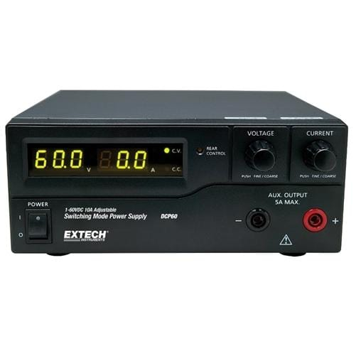 Extech DCP60: 600W Switching Power Supply - Anaum - Test and Measurement