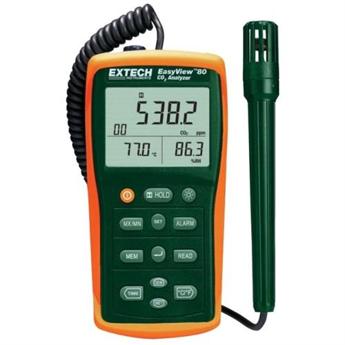 Extech EA80: EasyView Indoor Air Quality Meter/Datalogger