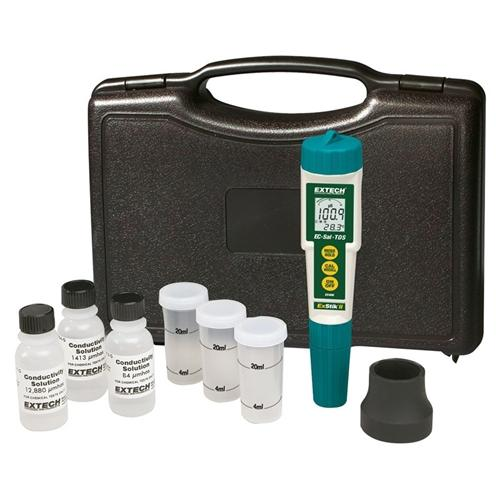 Extech EC410: ExStik Conductivity/TDS/Salinity Kit