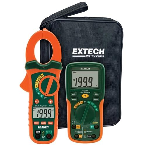 Extech ETK30 : Electrical Test Kit with AC Clamp Meter