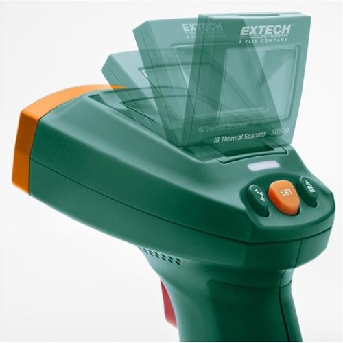 Extech IRT500: Dual Laser IR Thermal Scanner with Adjustable Display