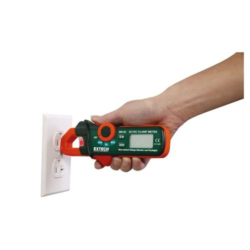 Extech MA120: 200A AC/DC Mini Clamp Meter+Voltage Detector