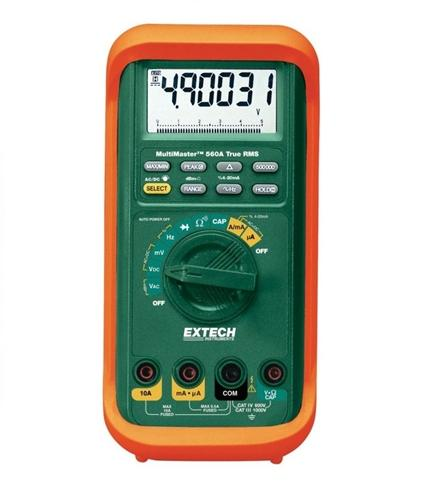 Extech MM560A: MultiMaster High-Accuracy Multimeter