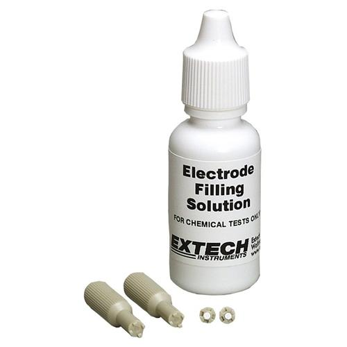Extech PH113: Filling Solution Kit for ExStik Refillable pH Electrode Module
