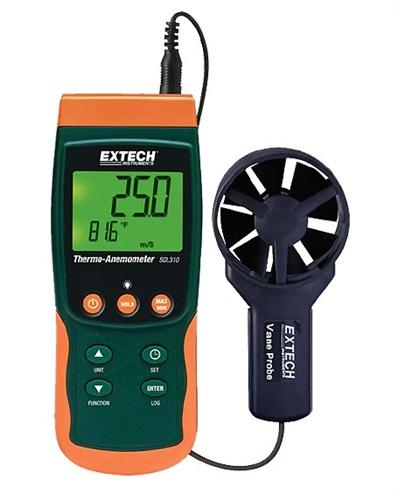 Extech SDL310: Thermo-Anemometer/Datalogger