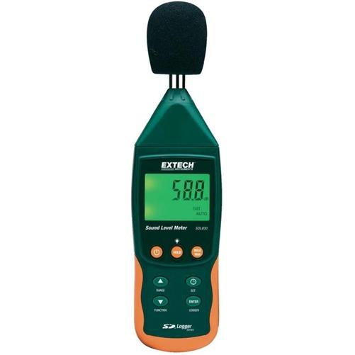 Extech SDL600: Sound Level Meter/Datalogger